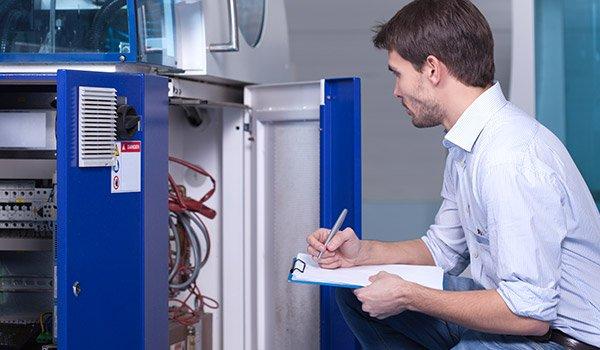 Equipment servicing