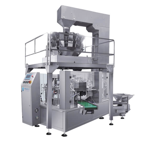 Neptune Rotary Pre Made Pouch Machine